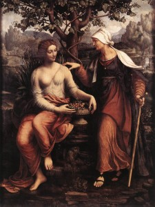 pomona the classical goddess of fruit and vertumnus the god of transformation are the main figures in an episode in ovids metamorphoses which is