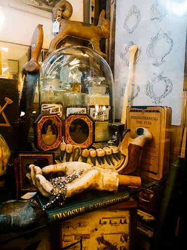 Oddities found at Obscura